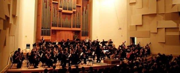 Auditorium orchestra chamber music festival