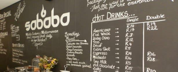 Restaurant Sababa Kaapstad