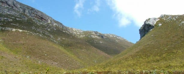 Hermanus mountain range