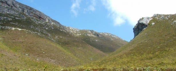 Hermanus mountain range