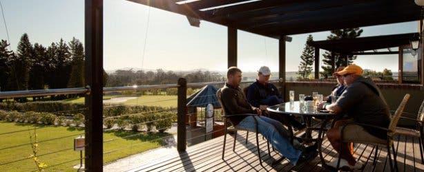 Chez Shiraz Restaurant at Devonvale deck