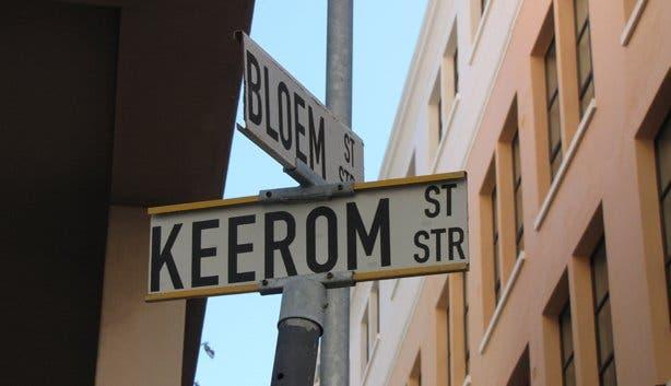 Keerom Street Sign