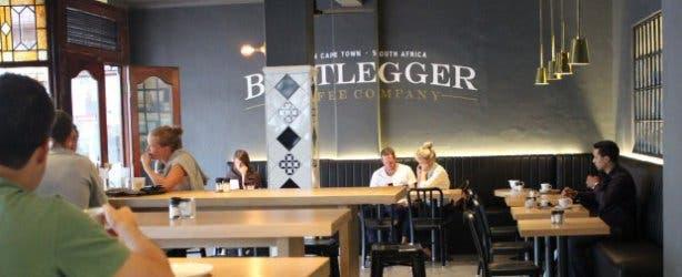 Bootlegger Cafe Kaapstad