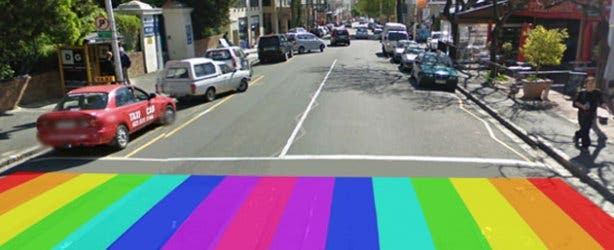Michael Elion Rainbow Crossings