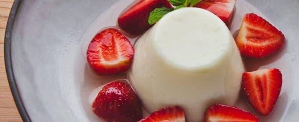 Mondiall Restaurant Vanilla Panna Cotta