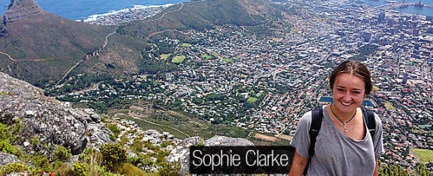 VACorps Law Intern in South Africa Sophie Clarke