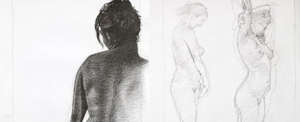 Nude Sketches from Bright Studio Cape Town
