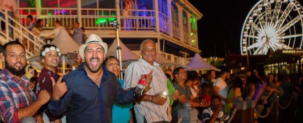 V&A Waterfront New Year's Eve 2015 c