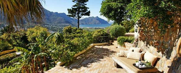 dreamhouse guesthouse accommodation hout bay garden view relaxing