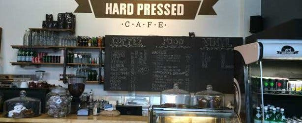 Hard Pressed Cafe Interior