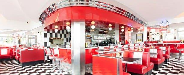 Franky's Diner Interior