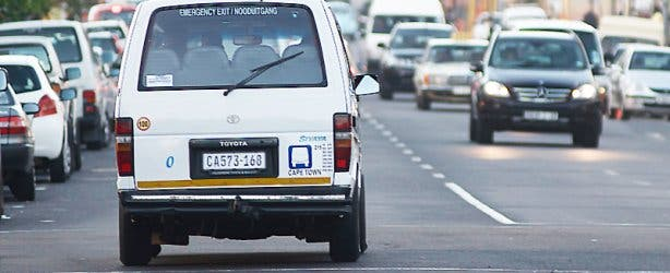 Minibus Taxi Seapoint