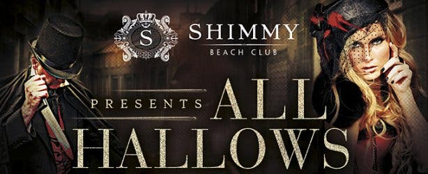 Halloween Party at Shimmy Beach Club