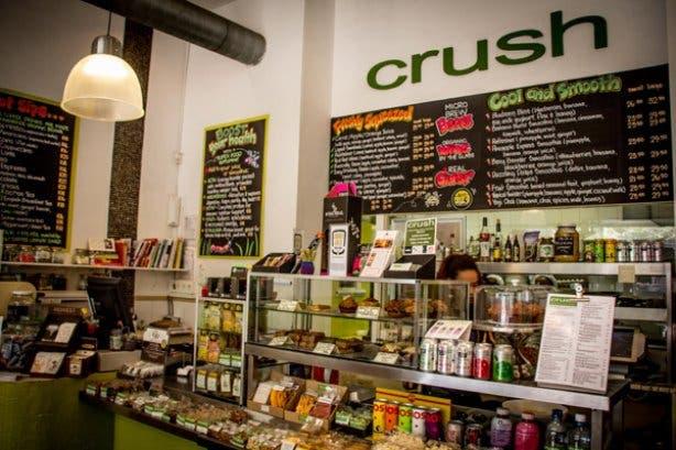 Crush Raw food healthy bar