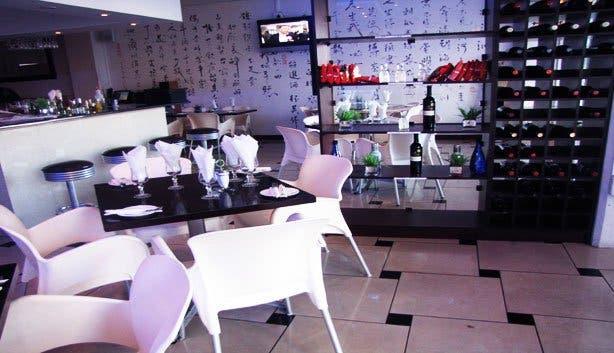 Chinese Restaurant tong lok inside