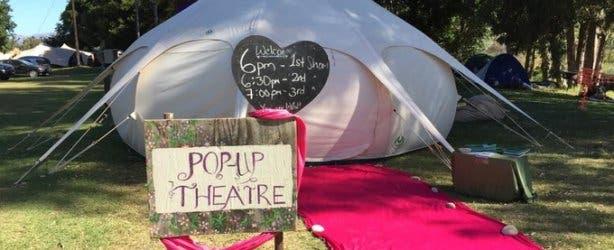 Llamaland Festival 2017 Pop-UP Theatre