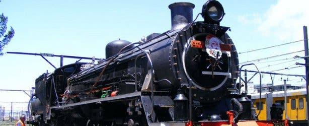Atlantic Rail Steam Train