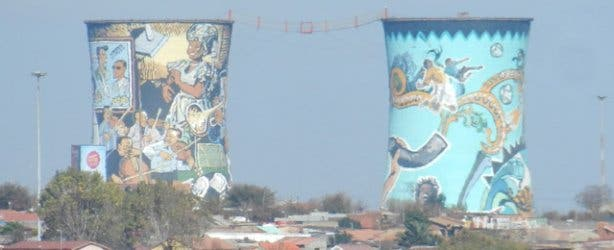 Street art in Soweto