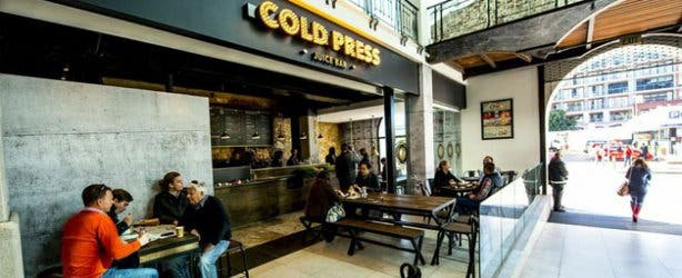Cold Press Juice Bar Exterior
