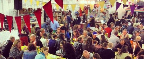 Blue Bird Garage Food and Goods Market
