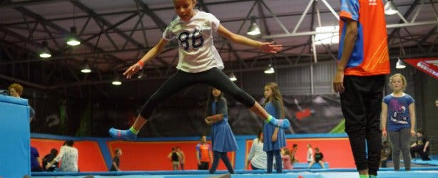 Rush Trampoline Park in Cape Town