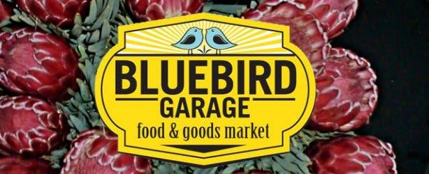 Blue Bird Garage Market Flowers