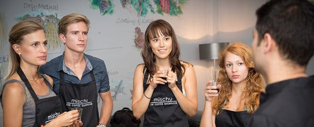 mischu coffee showroom academy 2