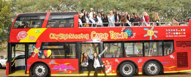 sightseeing Bus Miss Earth