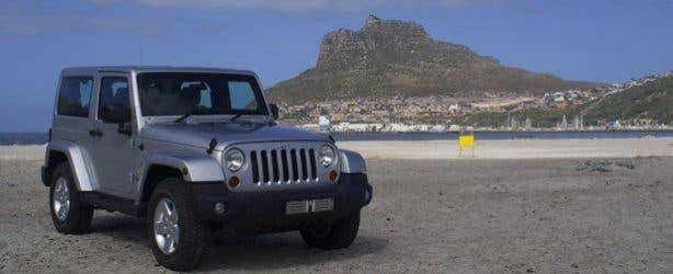 Jeep Wrangler Luxury Rental Cape Town