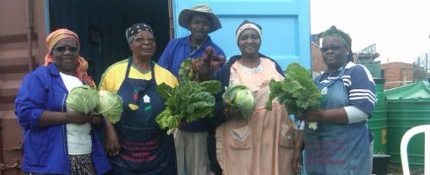 Camissa Township Tours Garden Ladies