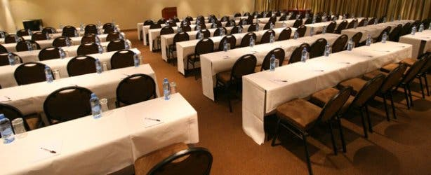 conference facilities at the Strand Towers Hotel