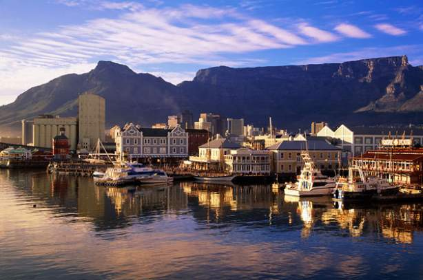 cape town waterfront view table mountain fl