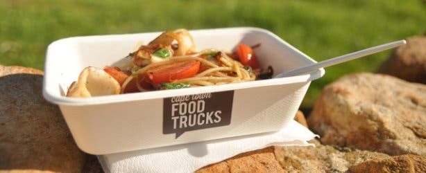 Pasta from a Cape TOwn food truck