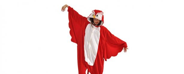 aFREAKa Clothing Adult Owl Onesie