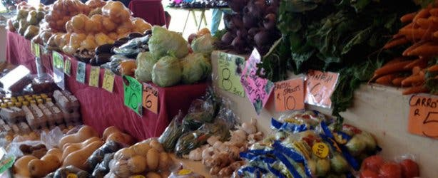 Produce at Century City Natural Goods Market Intaka Island
