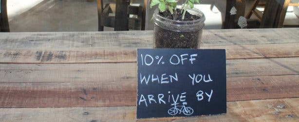 Custom bike discount at Starlings Cafe Woodstock