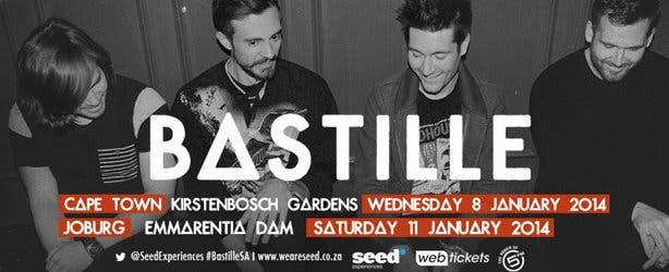 Bastille concert South Africa