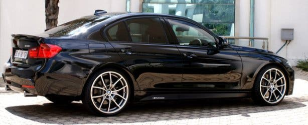 BMW 3-series care rental CPT