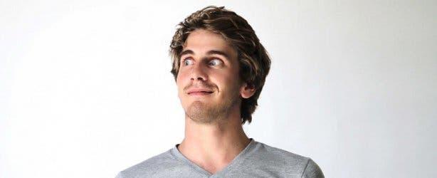 Devin Gray Grey Shirt Eyes