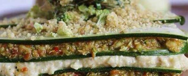 Raw and Roxy Vegan Cafe Lasagne