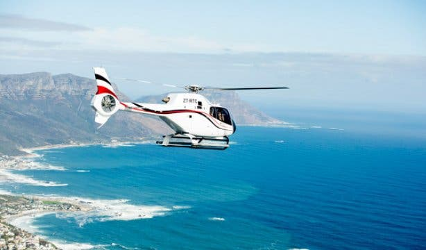 Cape Town Helicopters Robben Island NEW 3