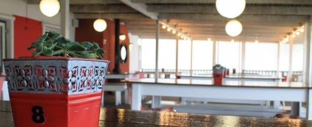Outdoor Red Leaf restaurant Beyerskloof
