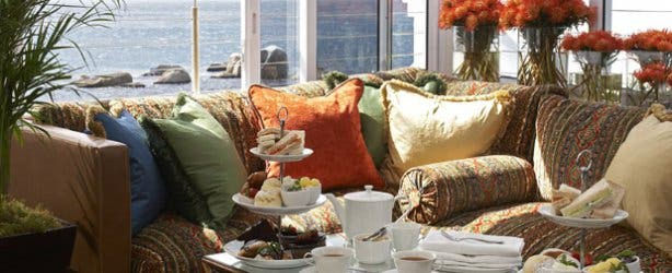 High tea at the Twelve Apostles Hotel