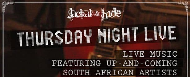 Thursday Night Live Music at Jackal & Hide Bar