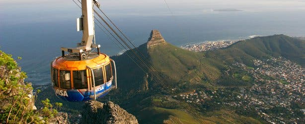 SANParks Table Mountain NP Cable Car