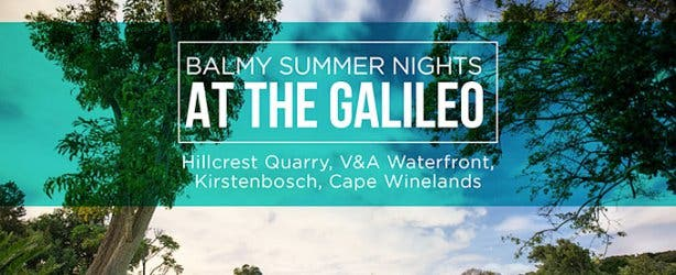 Galileo Open Air Cinema Cape Town