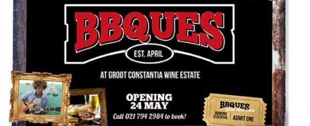 BBQUES at Groot Constantia Wine Estate