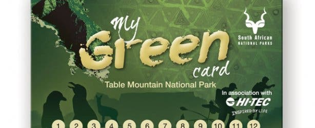 My Green Card for access to any of the SanParks National parks