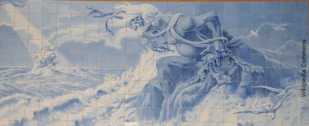 Adamastor Table Mountain Greek God