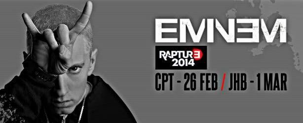Eminem Cape Town South Africa Johannesburg